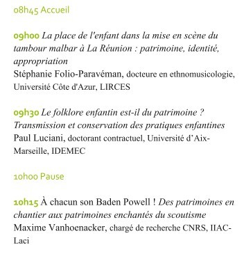 COLLOQUE 4